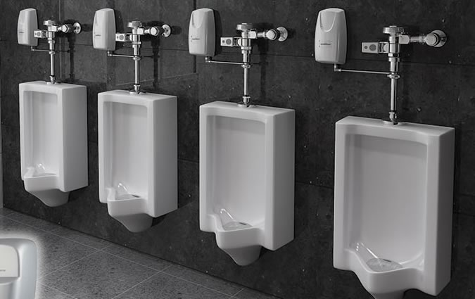 Urinal Systems for Commercial Washrooms